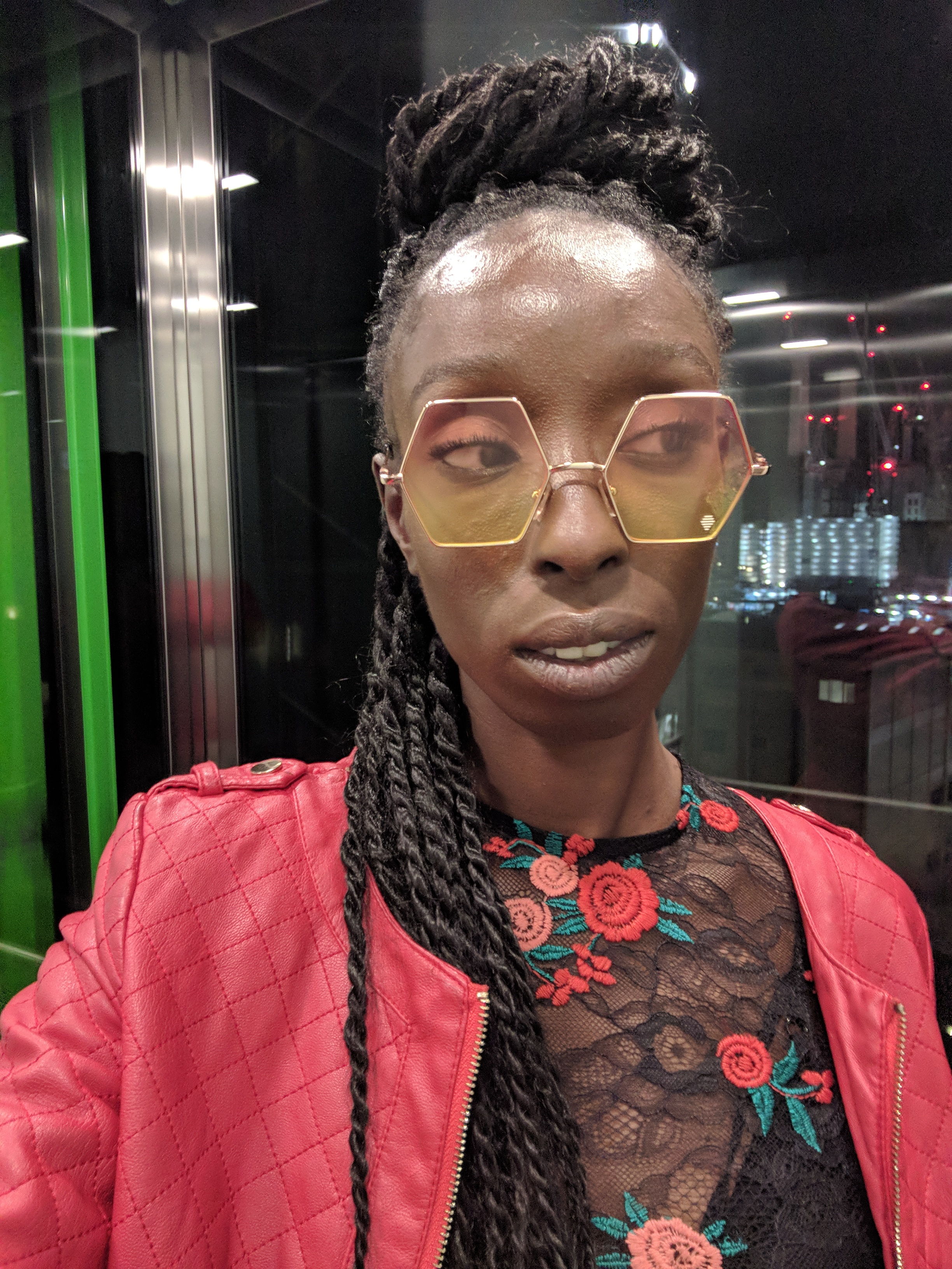 eunice olumide attends frieze groucho party